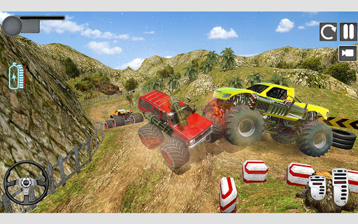 Monster Truck Shooting Race 2020: 3D Racing Games android2mod screenshots 5
