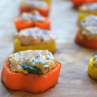 Sausage Stuffed Pepper Rings