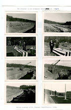 Photo: Reburial of the soldiers in their permanent gravesites ca. 1949.