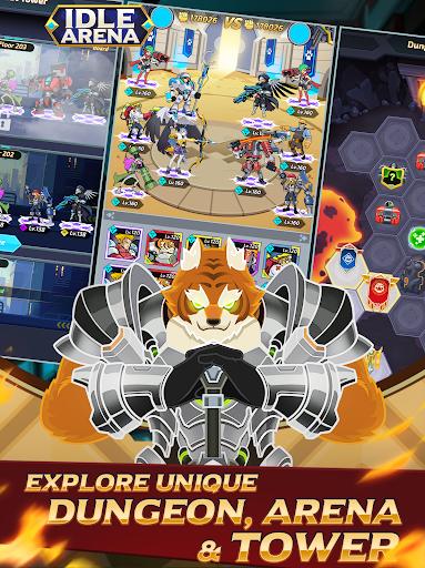 Idle Arena - Clicker Heroes Battle 5007 screenshots 11