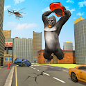 Angry Gorilla Rampage Attack icon
