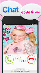 Game Chat With Blond Girl simulator - Joke APK screenshot thumbnail 2