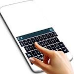 Black Themed Keyboard Icon