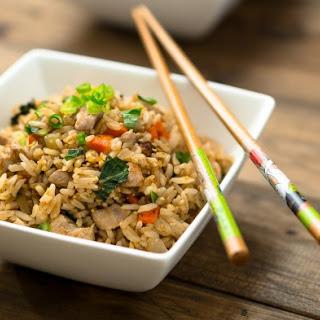 Basil Fried Rice.