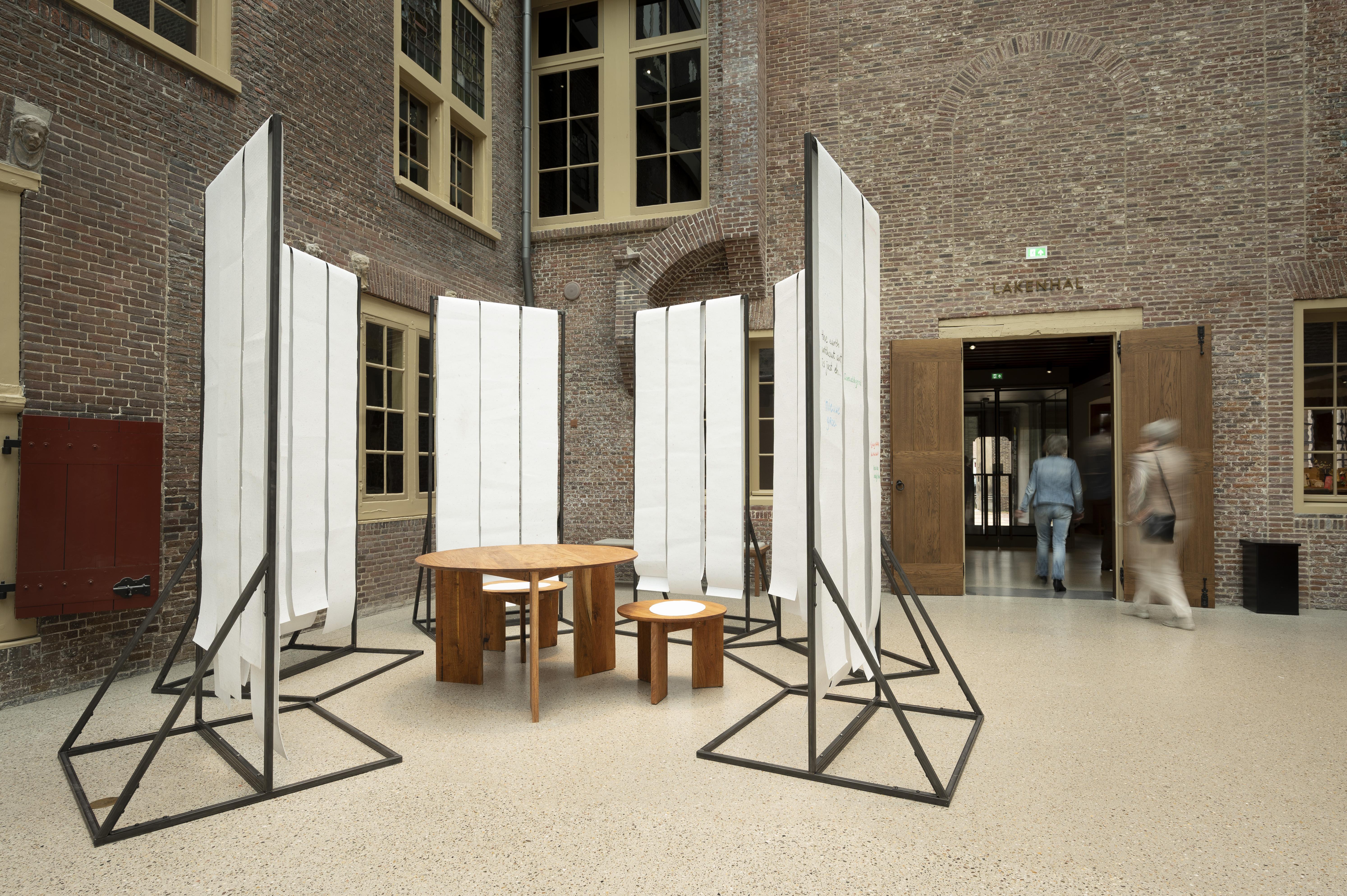 Barend Blom, Maarten Hoogslag en Roel Rutgers, Open Blad
