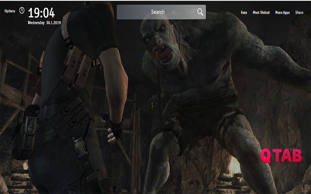 Resident Evil 4 Wallpapers New Tab