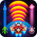 Galaxy Combat: Space shooter, Alien attack icon