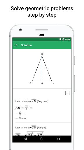 xGeometry - Geometry Solver 1.4 screenshots 1
