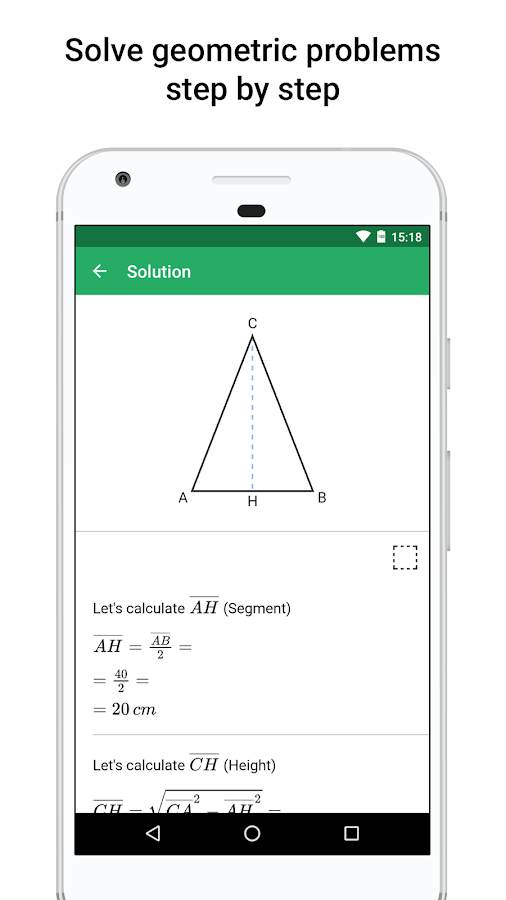 xGeometry - Geometry Solver- screenshot