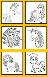 Unicorn Coloring Pages – Pony Coloring Book APK screenshot thumbnail 9