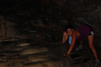 Photo: Kiera the cave monster
