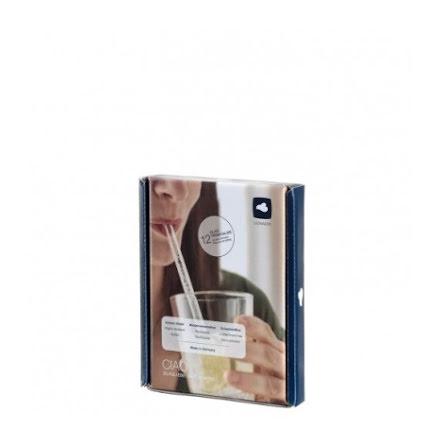 CIAO Sugrör Glas 15 cm 12-pack