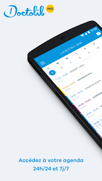 Doctolib Pro : Agenda praticien Android App Screenshot