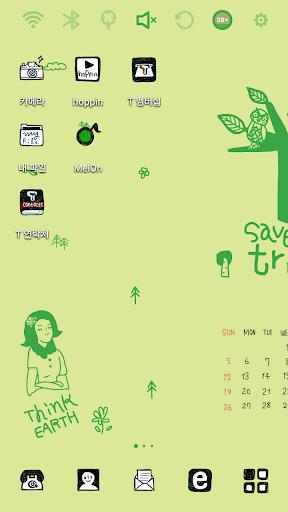 April Calendar Launcher Theme