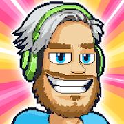 Download Game PewDiePie's Tuber Simulator [Mod: a lot of money] APK Mod Free