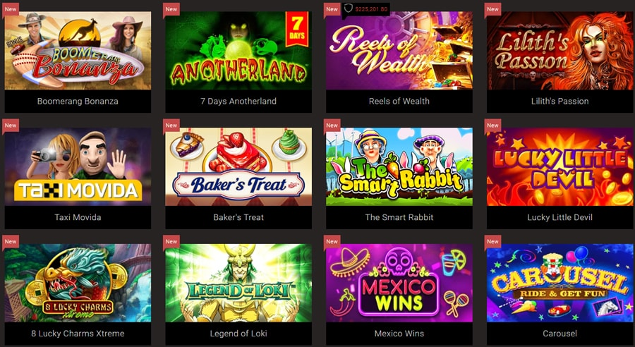 Games Available