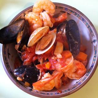 Paleo Seafood Fra Diavolo