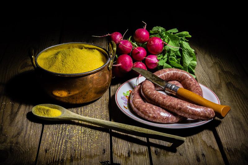 Polenta e salsiccia di Sergio Locatelli