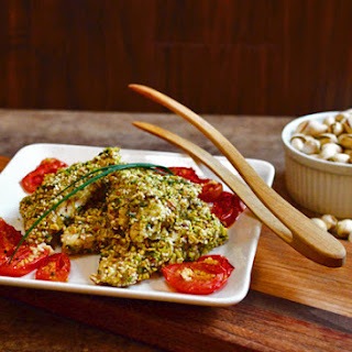 Pistachio Sesame Crusted Chicken
