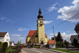 Photo: kostel v obci Solec