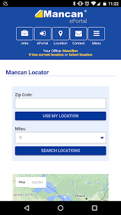 Mancan ePortal- screenshot thumbnail
