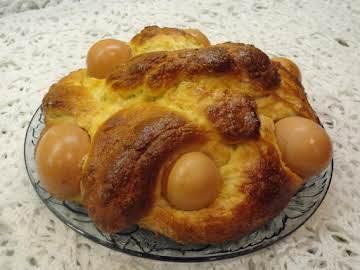 Folar da Pascoa (Portuguese Easter Sweet Bread)
