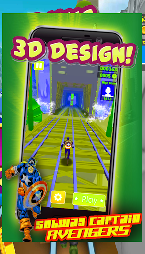 Subway Captain Runner 2018 1.89.7 screenshots 2