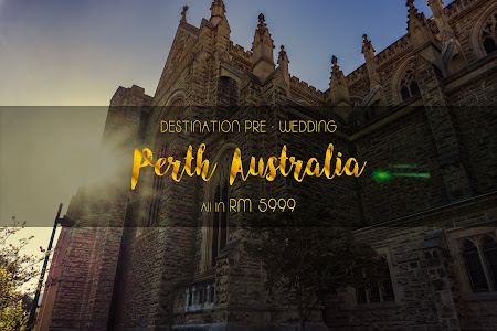 Destination Pre Wedding Perth Australia
