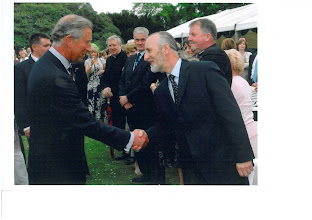 Photo: Michael and Rae welcomes his Royal Highness the Prince of Wales