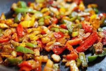 Fajita Chicken Pasta Skillet
