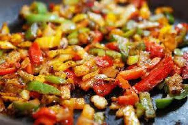 Fajita Chicken Pasta Skillet Recipe