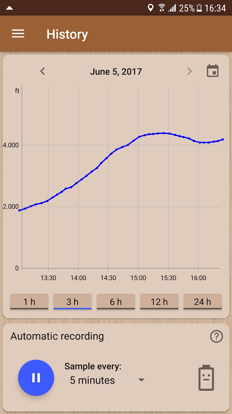 Accurate Altimeter PRO Screenshot 2