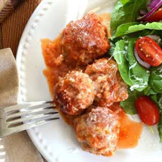 Italian Style Venison Meatballs.