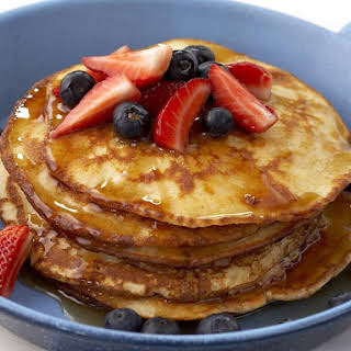 Spelt and Coconut Pancakes.