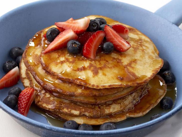 Spelt and Coconut Pancakes Recipe