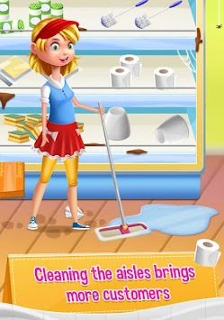 Supermarket Manager Kids Games apk screenshot