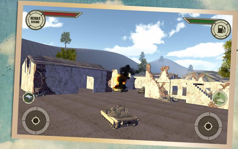 Скриншот Армия Tank War 2015
