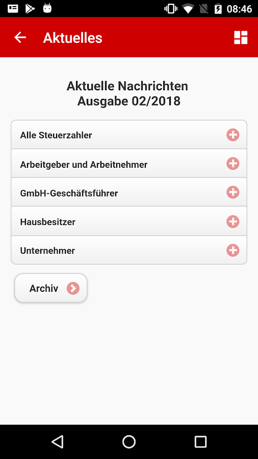 Meine Steuerberater-App- screenshot