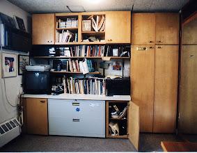 Photo: Cantor's study