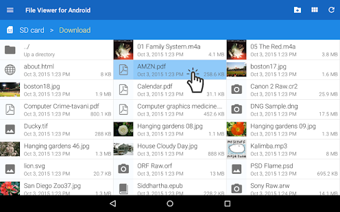 File Viewer for Android- screenshot thumbnail
