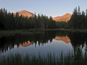 Photo: Evening reflection in Yosemite National Park