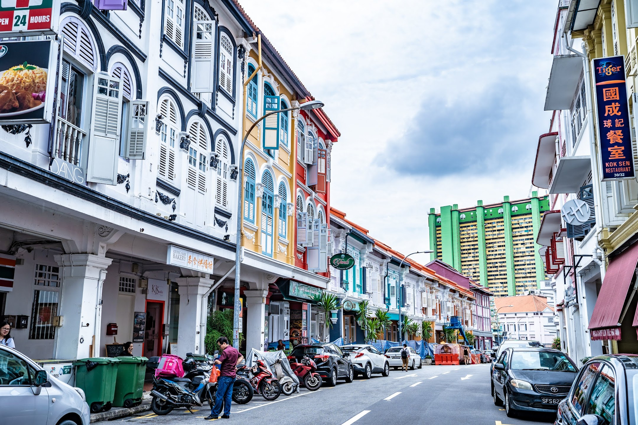 Singapore shop house1
