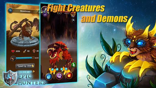 Code Triche World of Epic Hunters apk mod screenshots 4