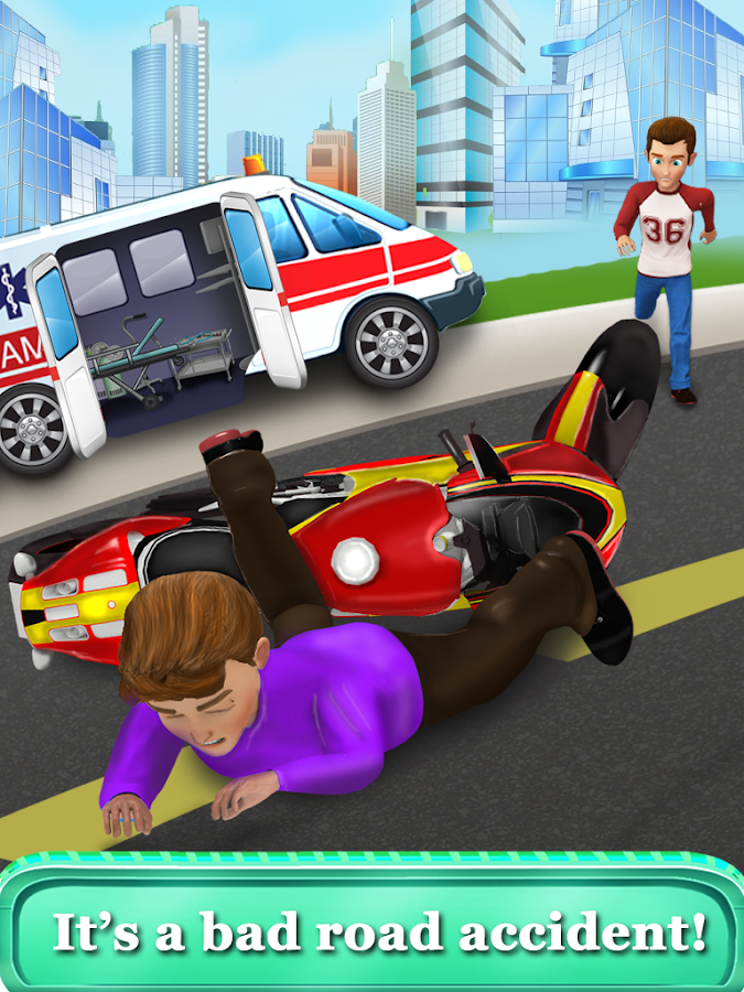 Kids Hospital Emergency Rescue - Doctor Games- screenshot