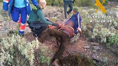 Rescate del cazador en Laujar de Andarax.