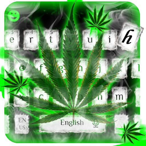 Weed Rasta Smoke Keyboard
