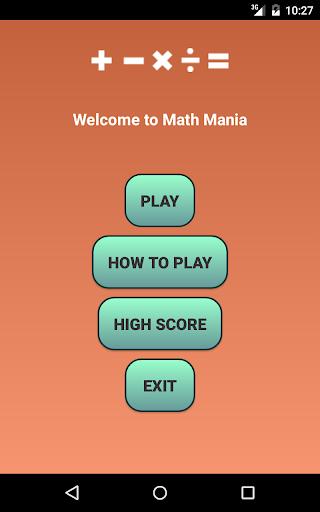 【免費教育App】Math Mania-APP點子
