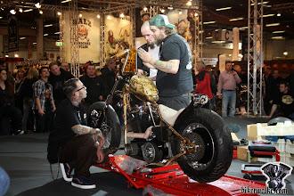 Photo: Arno Kruth mit seinen Team-Kollegen Ingo und Öse von Toxic-Bikes www.toxic-bikes.com