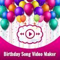 Birthday video status With photo– Status Maker icon