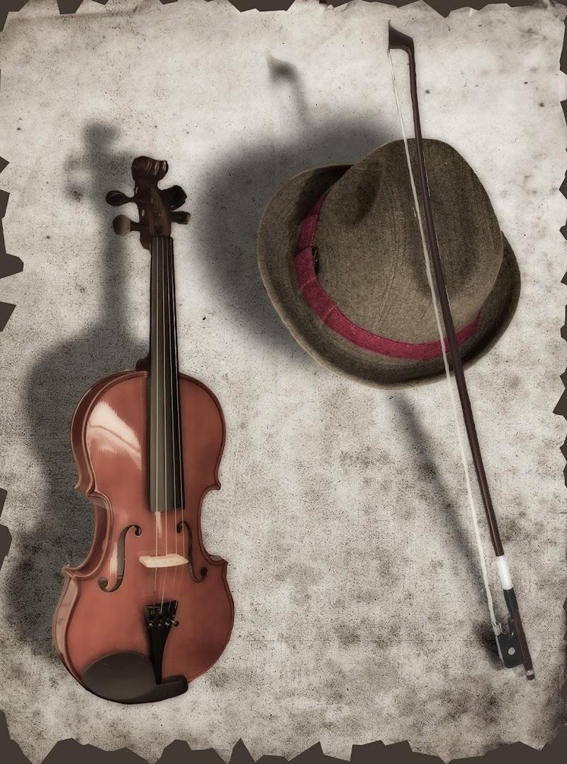 cappello con violino - Antonello Cappai di angelo27